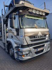 camião porta-automóveis IVECO Stralis 400 + reboque porta carros