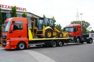 camião porta-automóveis MAN TGX 26.440 XXL , E6 , 6X2 , NEW BODY 7,5m , hydraulic , 2x winch