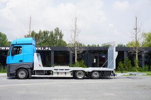 camião porta-automóveis MERCEDES-BENZ Actros 2542 , E6 , MEGA , NEW BODY , car tow 10T , hydraulic ram