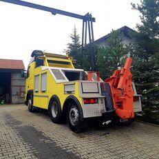 camião porta-automóveis VOLVO fh 12 holownik towing truck