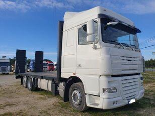 camião porta-automóveis DAF XF PORTA-MÁQUINAS