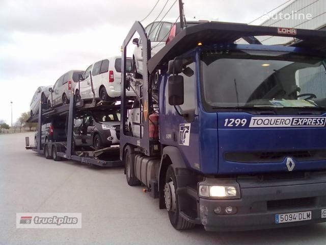 RENAULT PREMIUM 420 camião porta-automóveis
