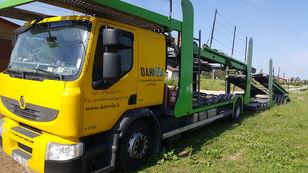 camião porta-automóveis RENAULT Premium 370.18 Euro5 !!! + reboque porta carros