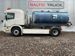 camião-tanque SCANIA P94-300, 4x2 HOOKLIFT + WATER TANK