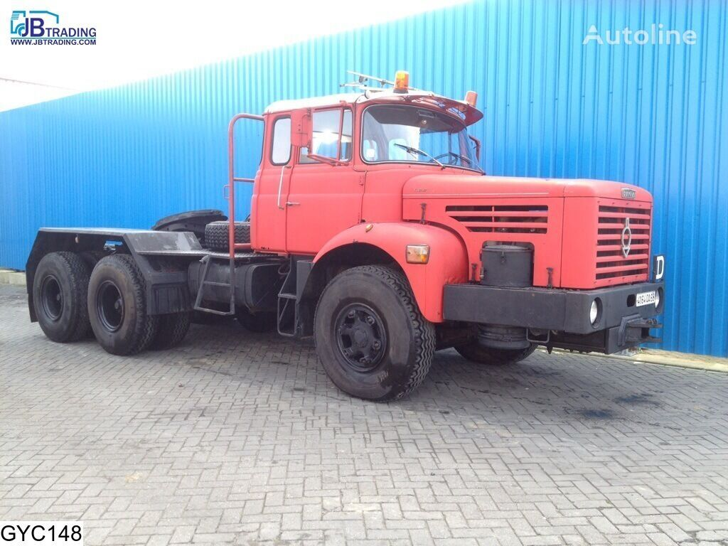 BERLIET TBO , Manual, Steel suspension, Naafreductie camião tractor