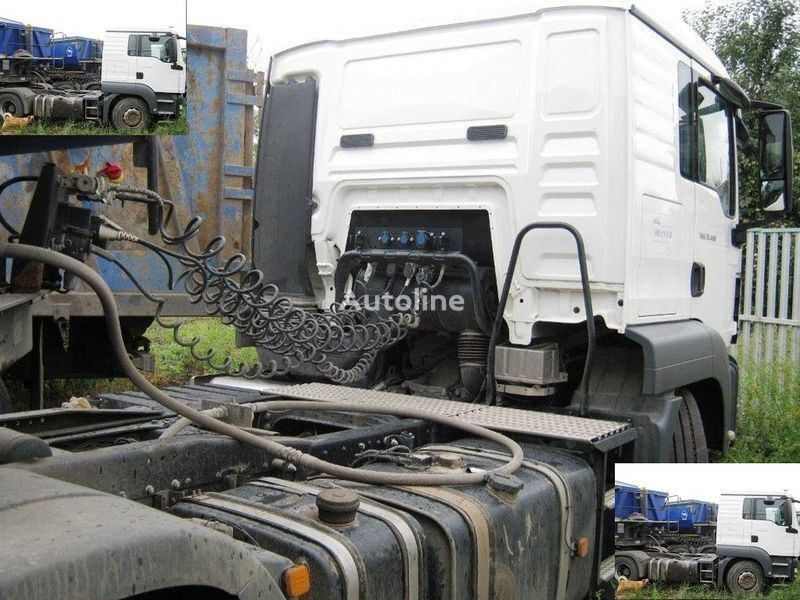 DAF SAMOSVALNAYa SISTEMA HYVA ( Gidravlika na tyagach ) camião tractor