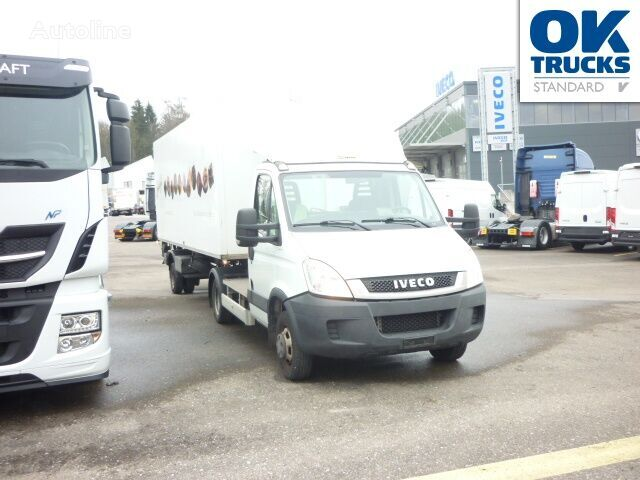 camião tractor IVECO Daily 50C14T CNG inklusive Auflieger + semi-reboque frigorífico