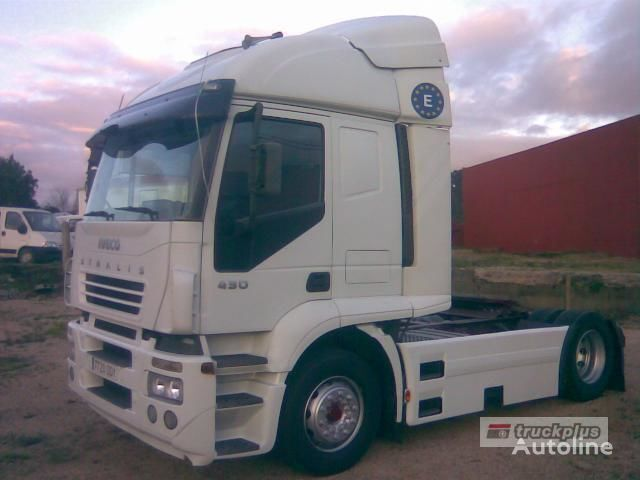 IVECO STRALIS AT 440S43 camião tractor