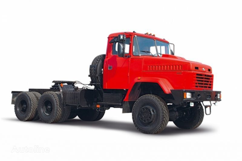 KRAZ 6443 camião tractor