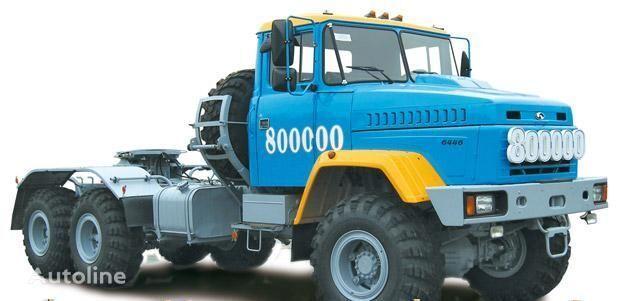 KRAZ 6446 camião tractor