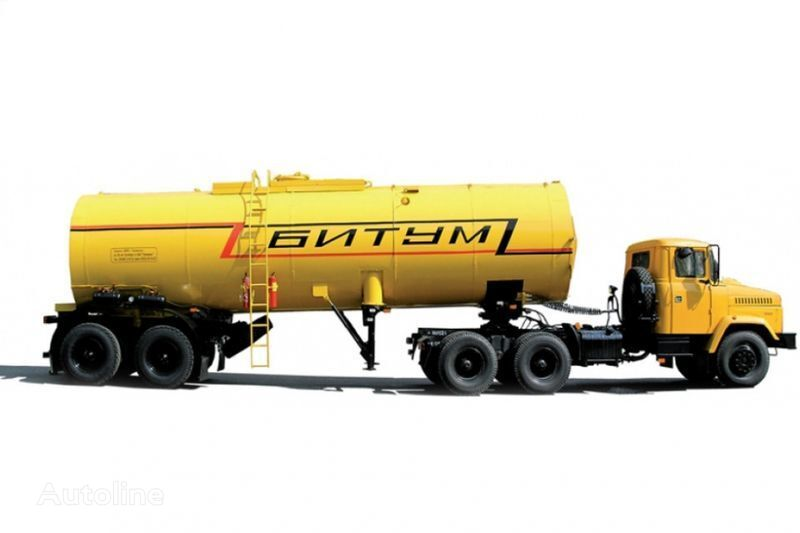 KRAZ Avtobitumovozy 63431 AB-22 i 6443 AB-30,5  camião tractor + cisterna semi-reboque