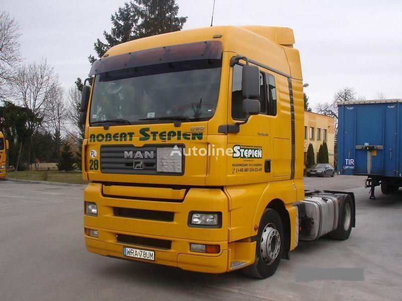 MAN TGA 18.430 4X2 BLS camião tractor