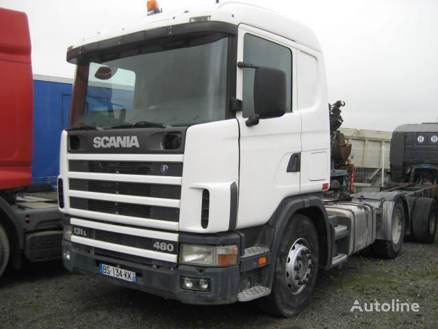 SCANIA L 114L380 camião tractor