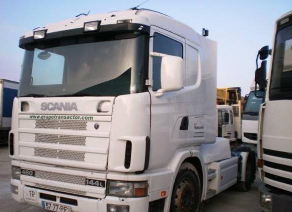 SCANIA L 144L460 camião tractor