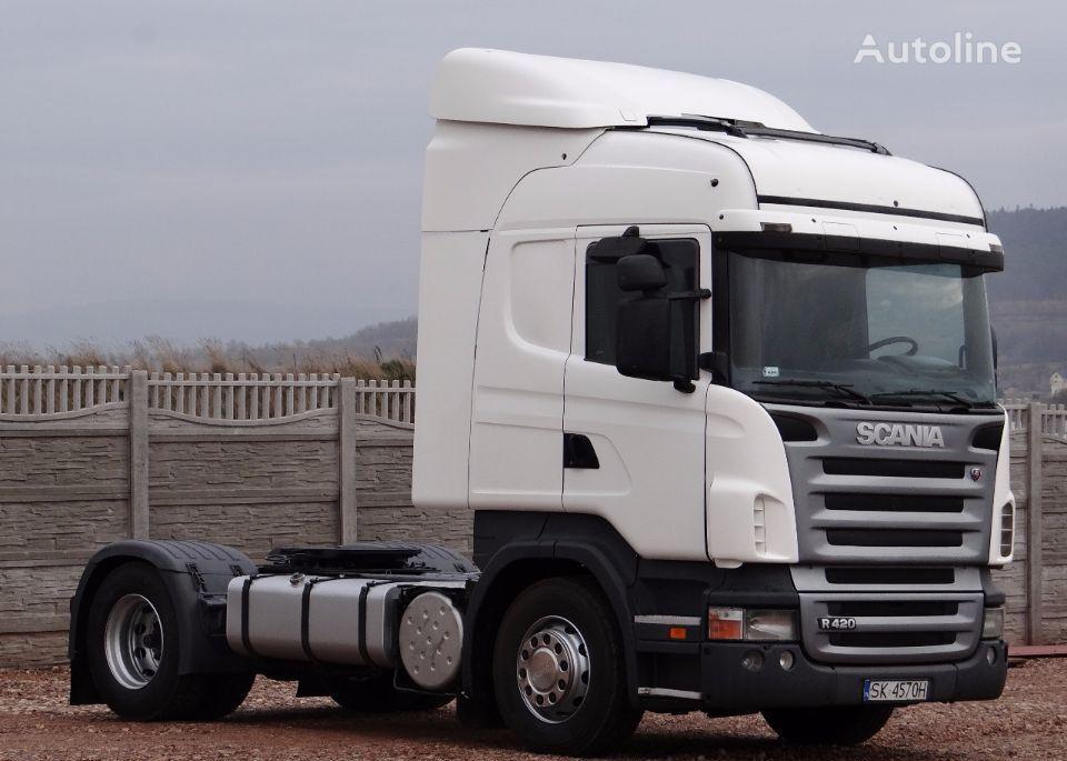 SCANIA R 420 / HIGHLINE / / OPTICRUISE + SPRZĘGŁO / camião tractor