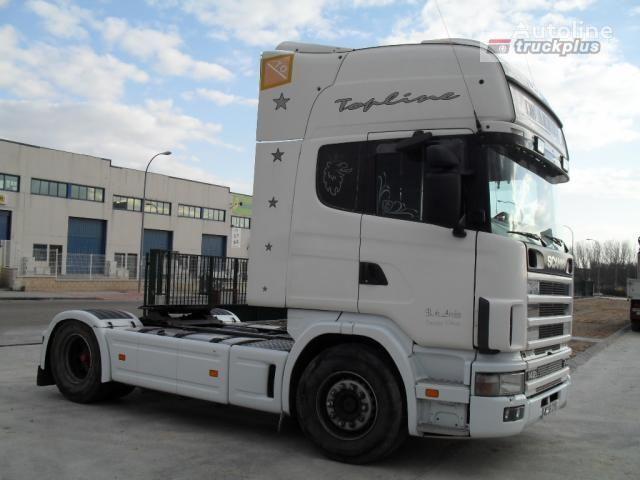 SCANIA R124 L470 camião tractor