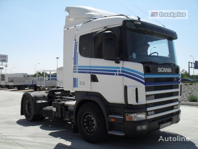 SCANIA R124 LA 420 camião tractor