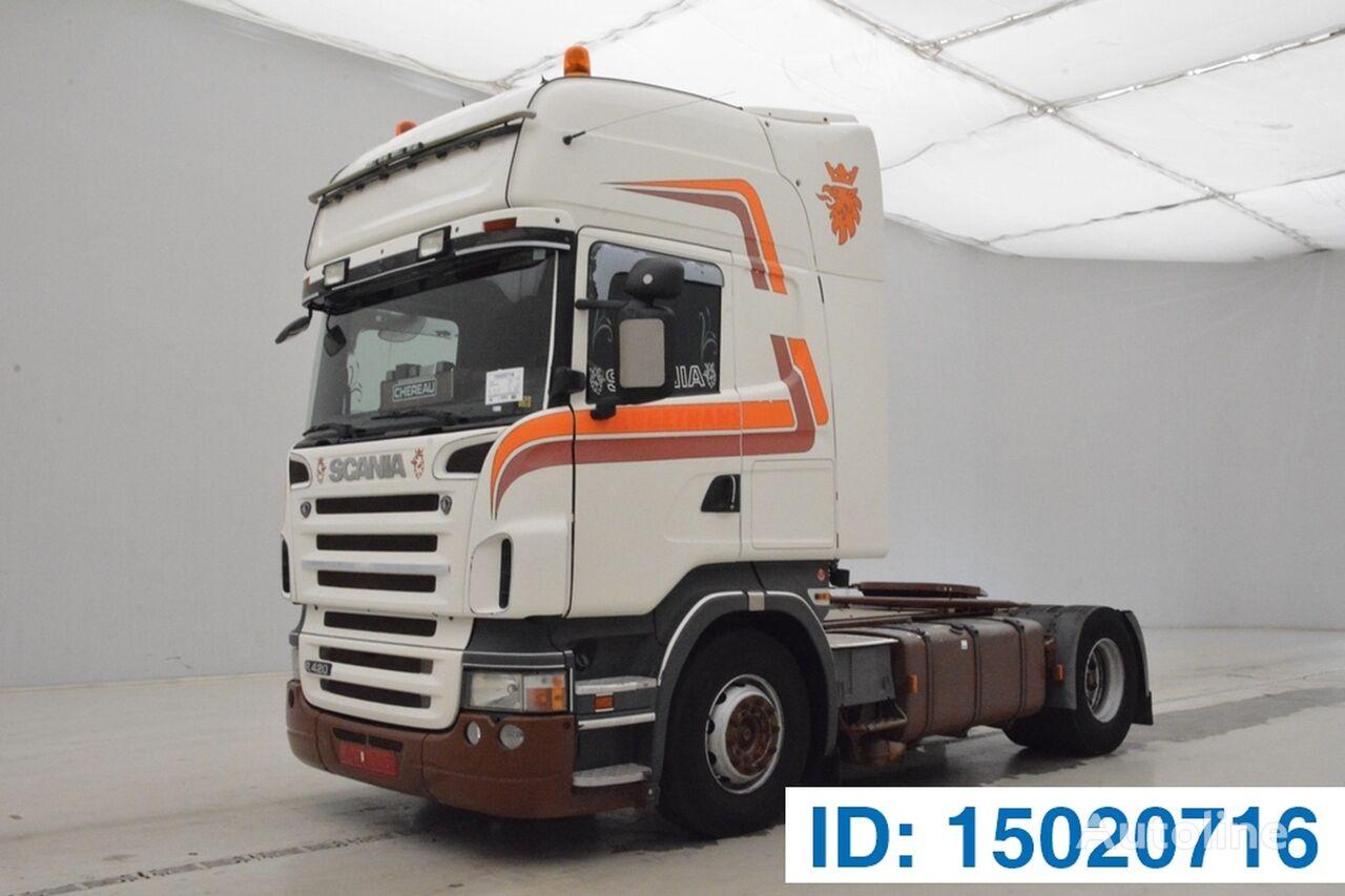 SCANIA R420 TOPLINE camião tractor
