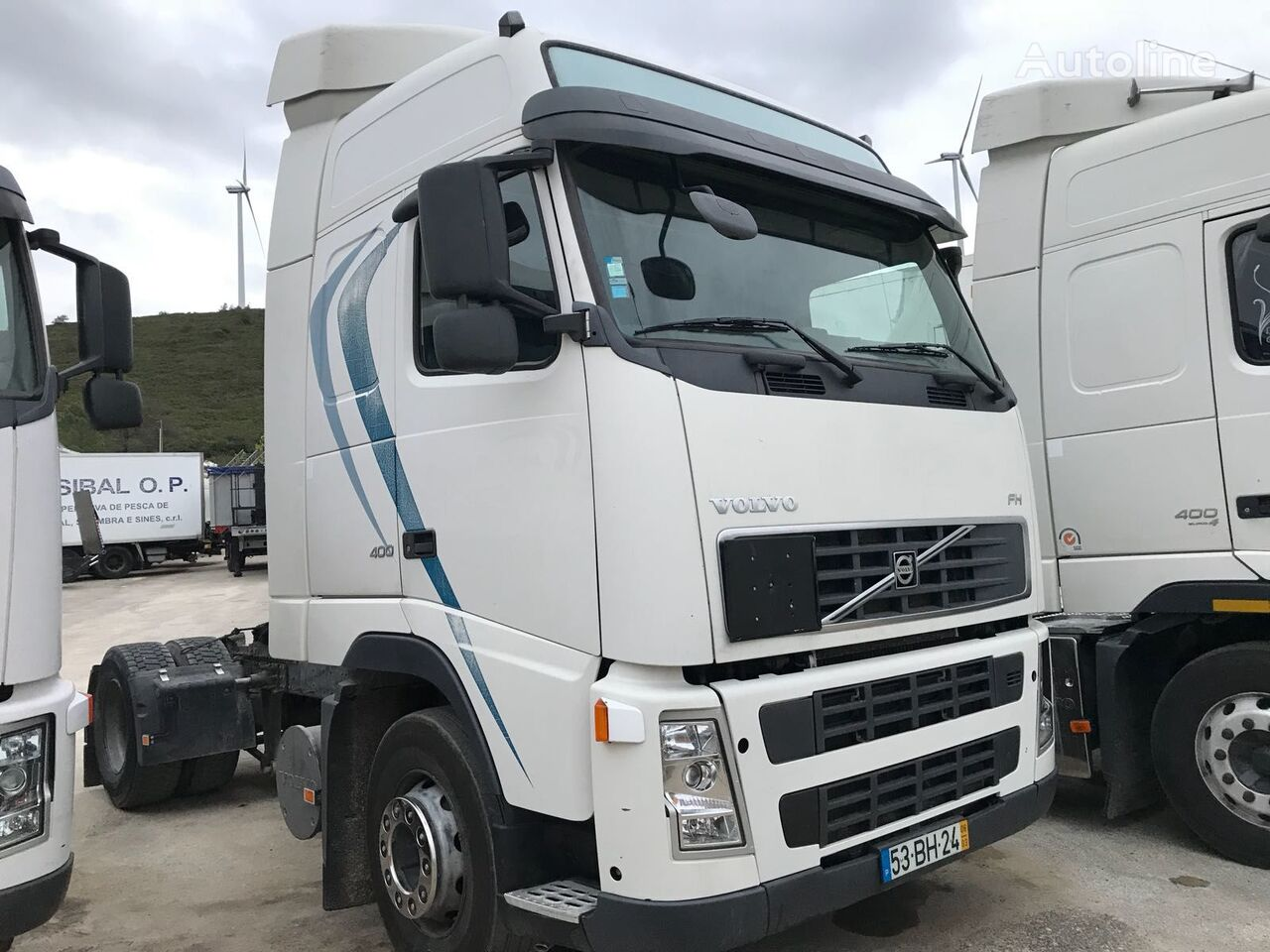 camião tractor VOLVO FH13 400