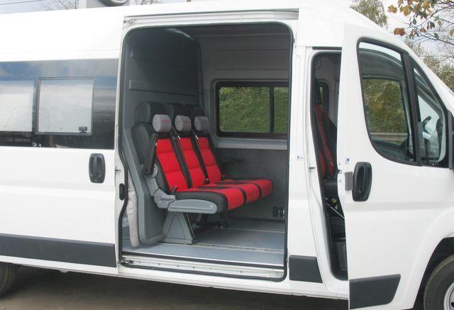 FIAT Ducato Universal Transformer 2 in 1 carrinha de passageiros e cargas novo