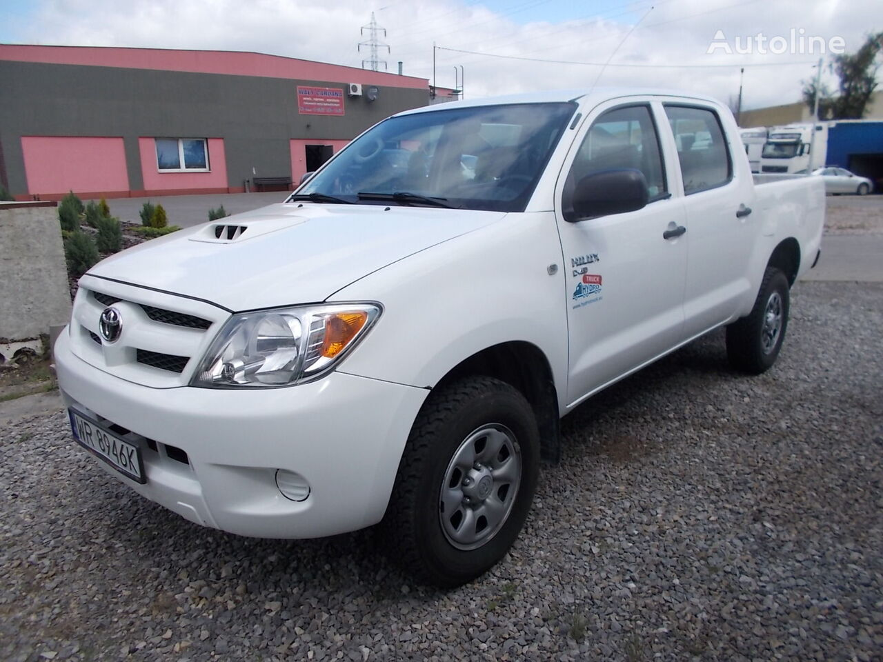 pick-up TOYOTA HILUX