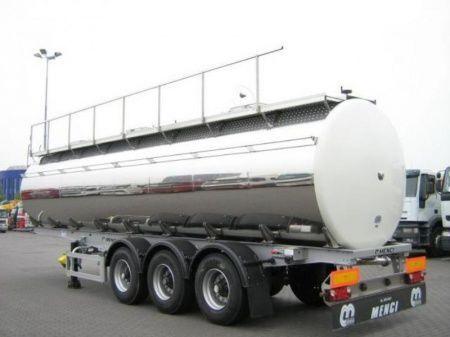 SANTI SANTI-MENCI pishchevaya cisterna BPW ECO-AIR SANTI-MENCI cisterna alimentar novo