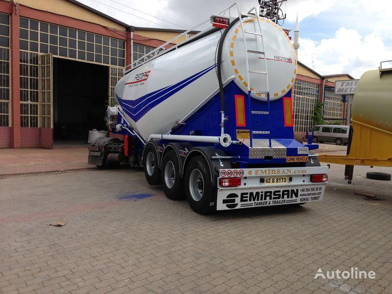 EMIRSAN Manufacturer of all kinds of cement tanker at requested specs  cisterna de transporte de cimento