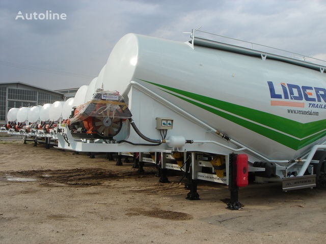 LIDER NEW ciment remorque 2017 YEAR (MANUFACTURER COMPANY) cisterna de transporte de cimento novo