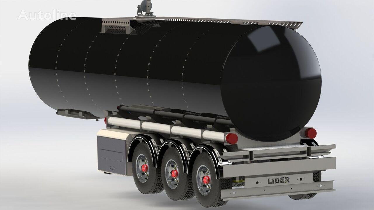 LIDER 2018 year directly from manufacturer compale stockny ready avail cisterna de transporte de combustíveis novo