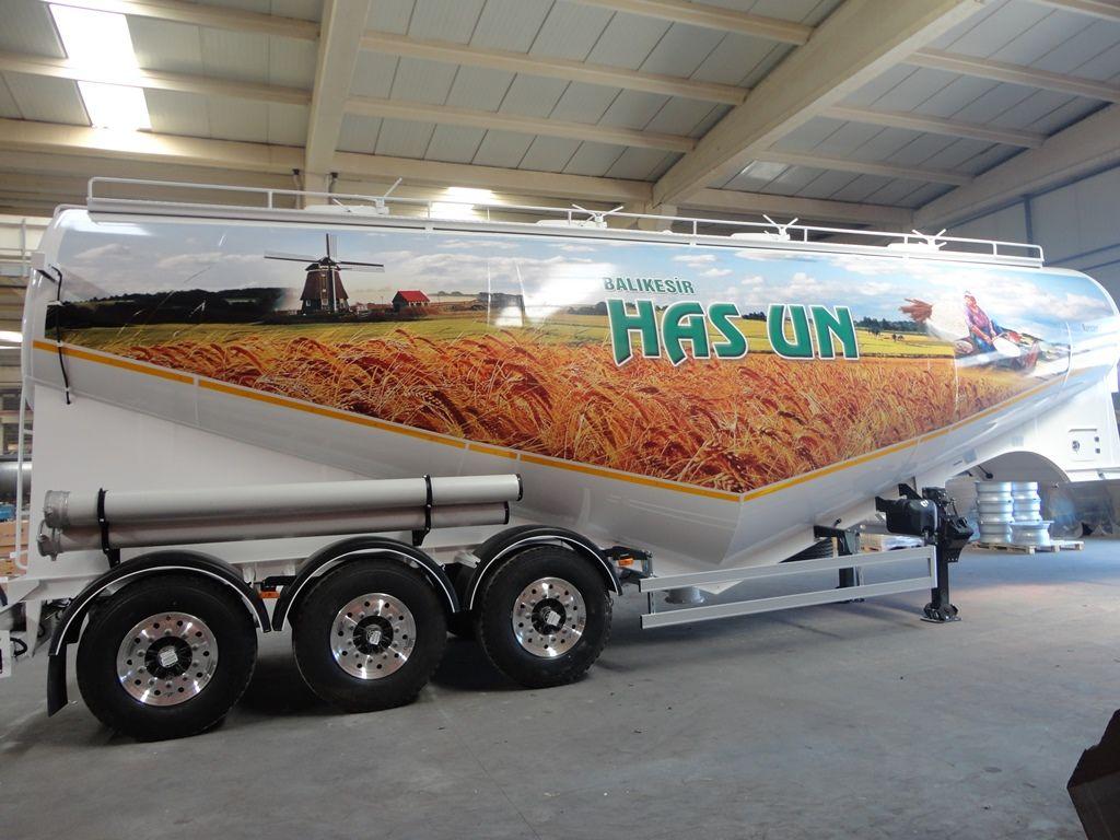 NURSAN Mukovoz cisterna de transporte de farinha novo