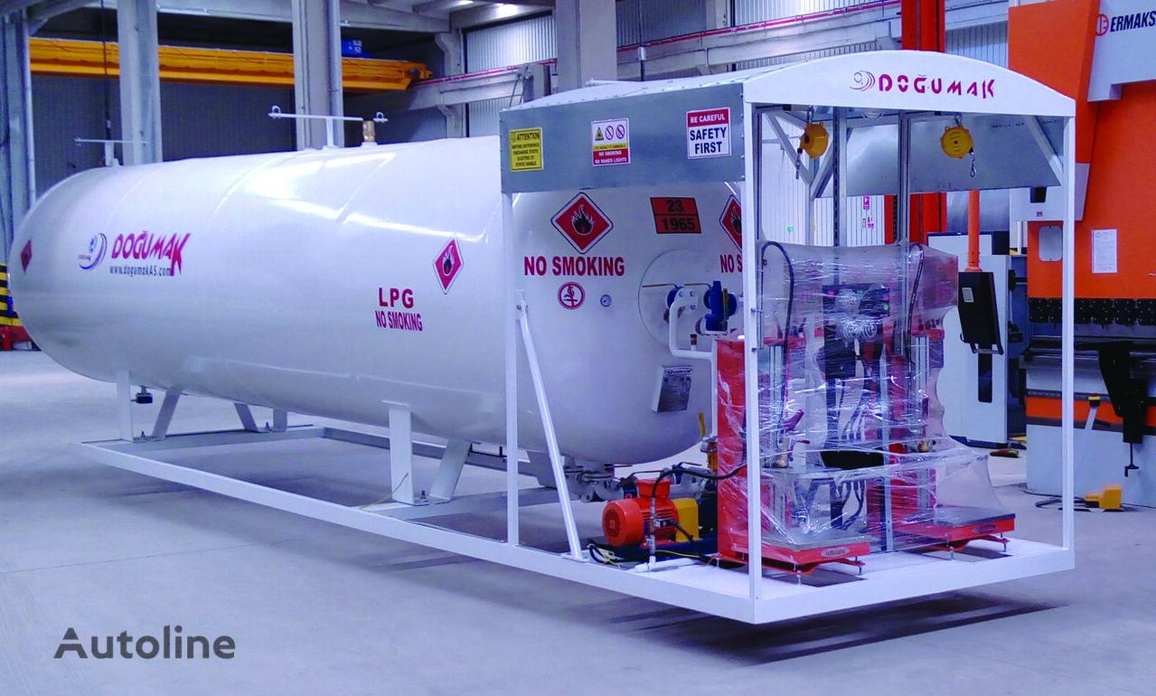 cisterna para gás DOĞUMAK 21m3 Skid System (Double Digital Scales) novo