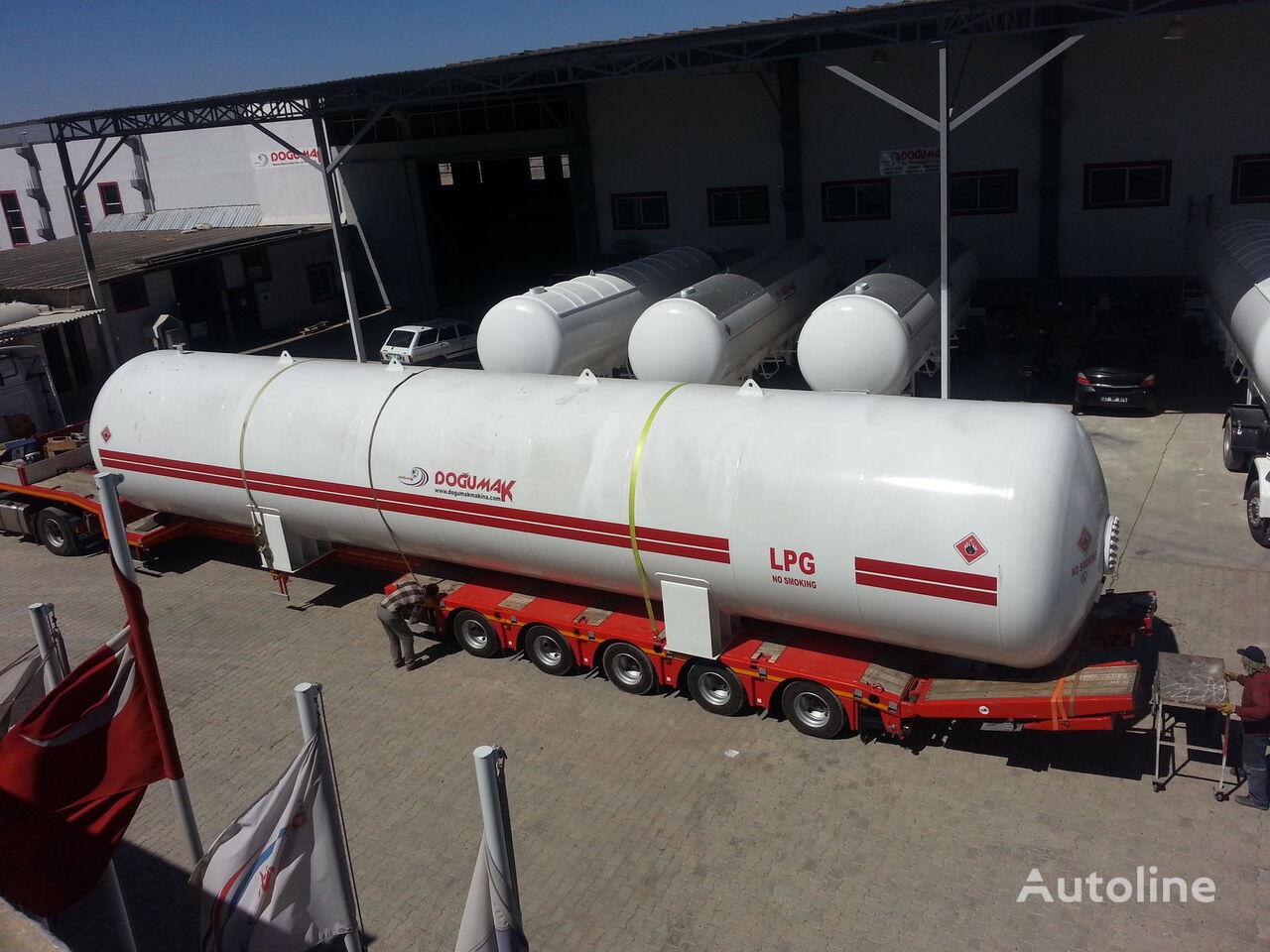 DOĞUMAK INDUSTRIAL LPG STORAGE TANKS cisterna para gás novo