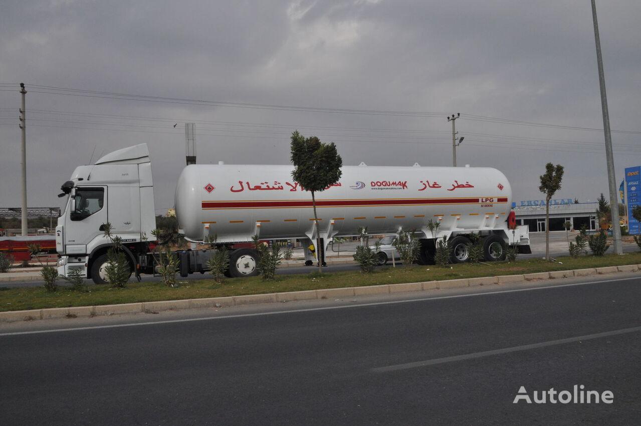 cisterna para gás DOĞUMAK YEMEN TYPE 57 M3 novo