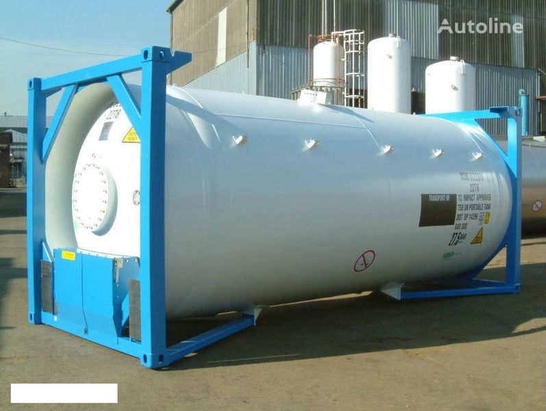 GASCON   20 FT cisterna para gás