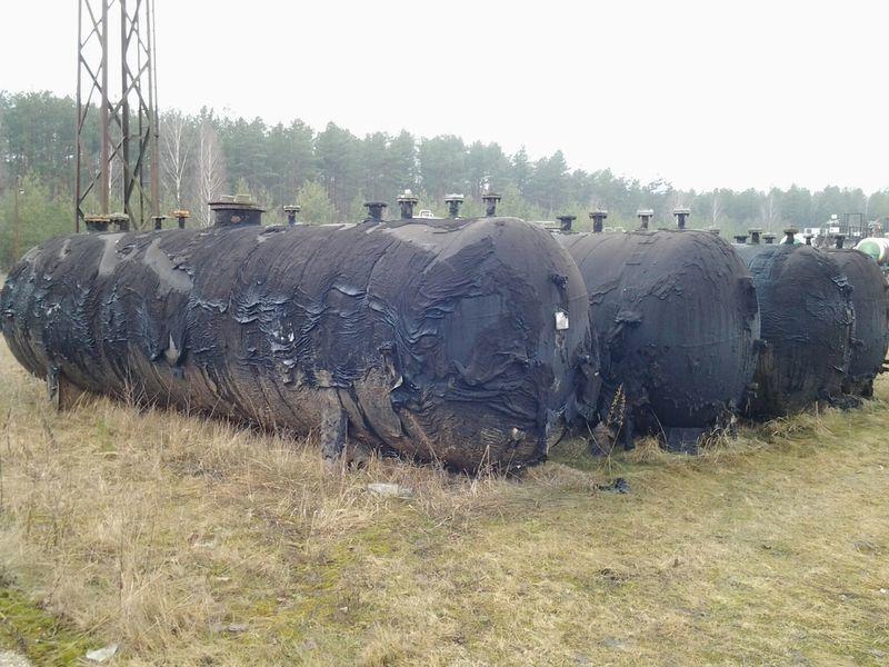 LPG TANKERS 25000L  4 UNITS cisterna para gás