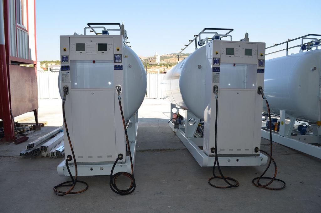YILTEKS LPG skid Tank cisterna para gás novo