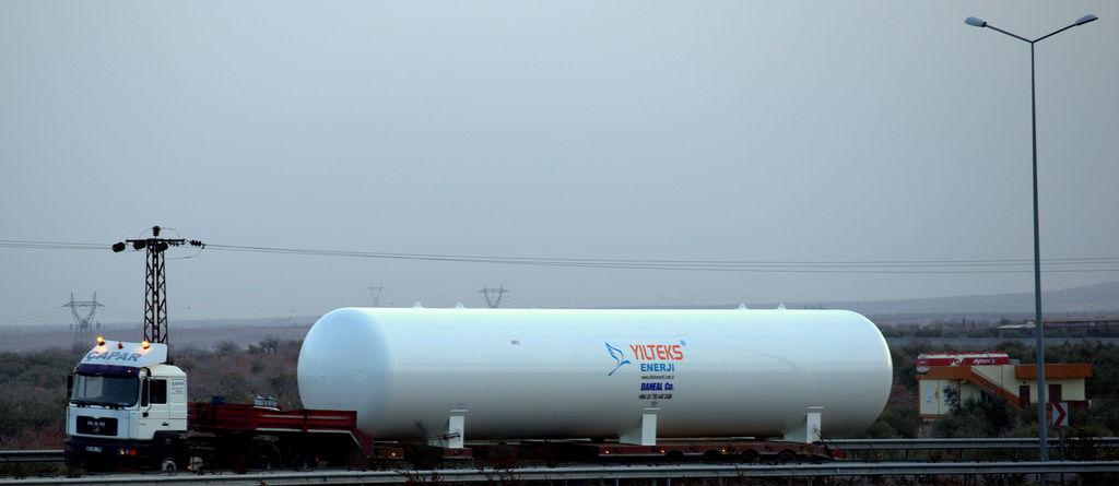 YILTEKS Lpg Storage Tank 180m3 cisterna para gás novo