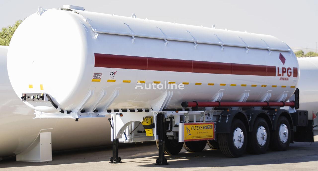 YILTEKS Semi - Trailer LPG  cisterna para gás novo