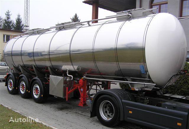 SCHRADER 31500l 5950kg !!! cisterna semi-reboque