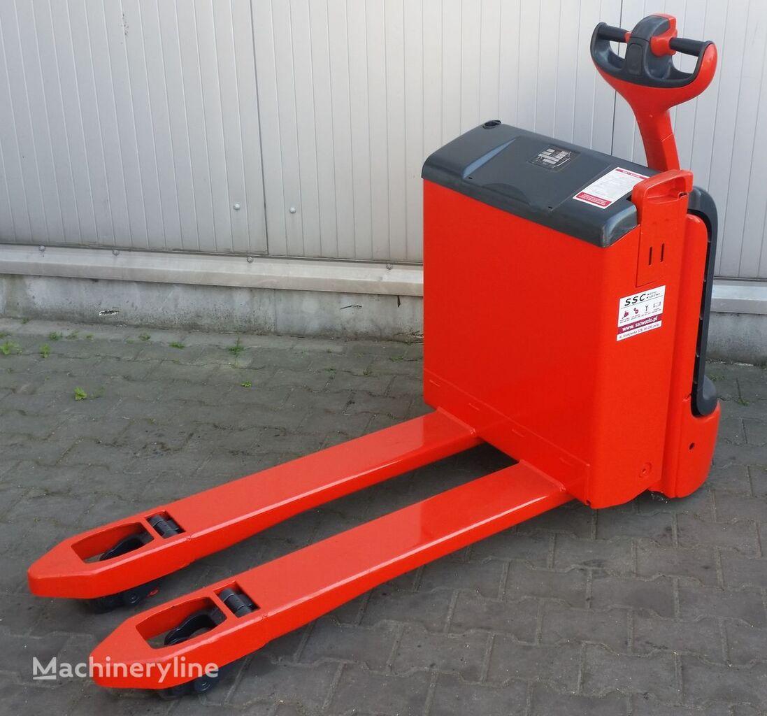 LINDE T18 porta-paletes eléctrico
