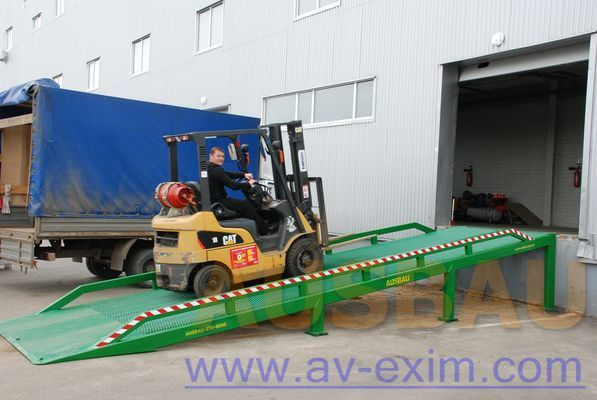 AUSBAU AUSBAU-ST Fixed ramp , Stacionarnaya rampa , Dock ramp , laadbrug rampa de carga novo