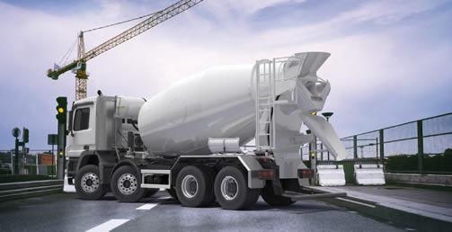 betoneira de tambor PUTZMEISTER P12 nova