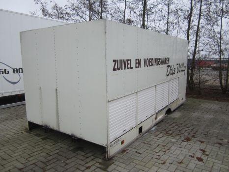 DIVERSE container carroçaria furgão