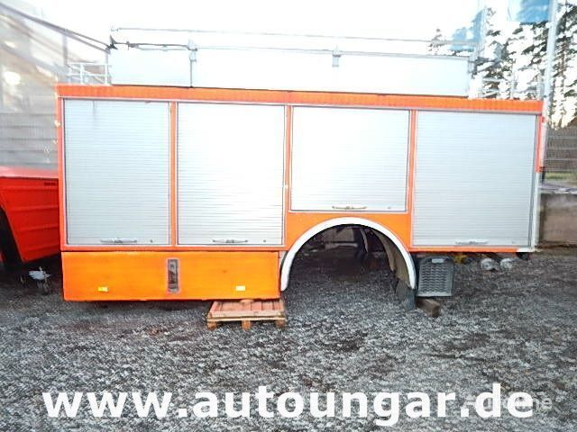 MERCEDES-BENZ Schlingmann Feuerwehr Aufbau m Rosenbauer Pumpe 24/8 carroçaria furgão