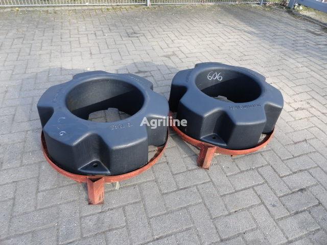 CASE IH Hinterradgewichte CNH 454 kg contrapeso novo
