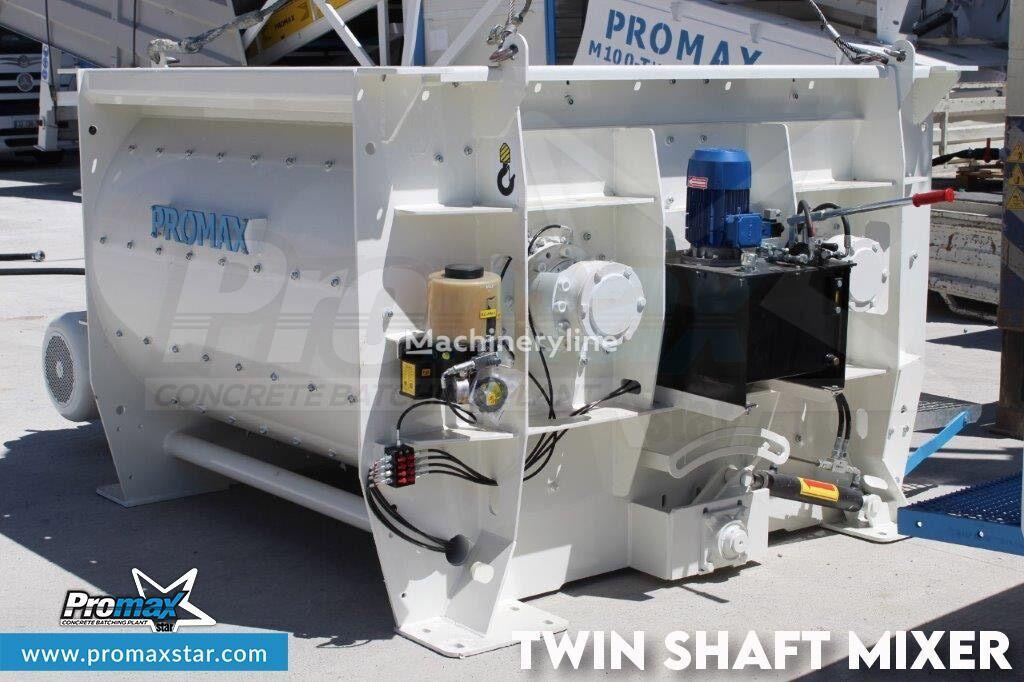 betoneira PROMAX 2 m3 /3 m3 TWIN SHAFT MIXER novo
