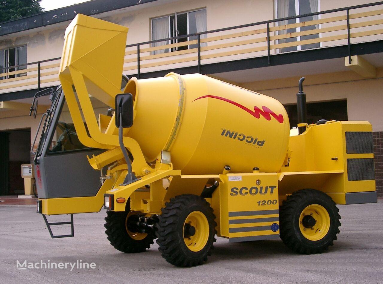 betoneira scout  1200 novo