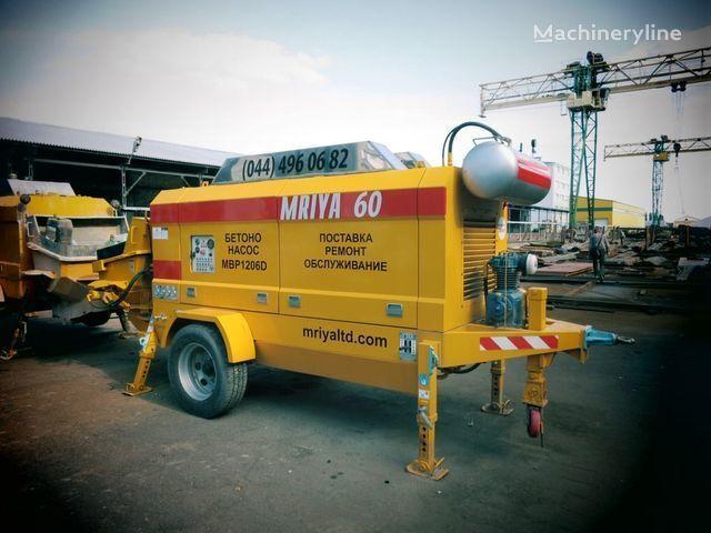 MRIYA MBP 1206D bomba de betão estacionaria novo