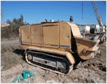 PUTZMEISTER BSC1005 bomba de betão estacionaria