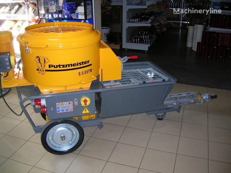 PUTZMEISTER S5 EV/TM bomba de betão estacionaria novo